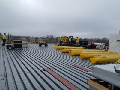 Chicago Commercial Roofing Contractor New Roof Construction Solaris